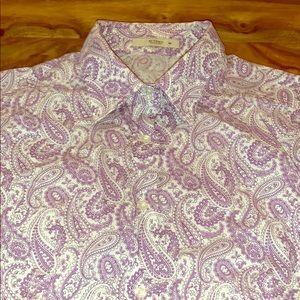 💯Authentic Etro Women's classic buttondown shirt